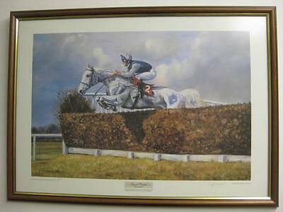 Desert Orchid / Simon Sherwood - Print Limited Edition - Signed