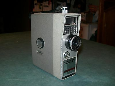 VINTAGE HANIMEX AUTOMATIC 8mm CAMERA MADE IN JAPAN