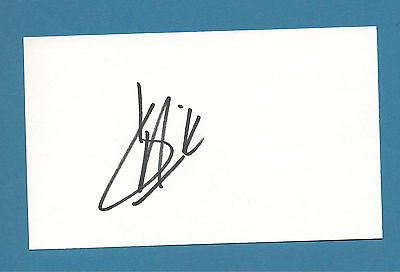 Kevin Harvick - NASCAR - Autographed 3 x 5 Index Card