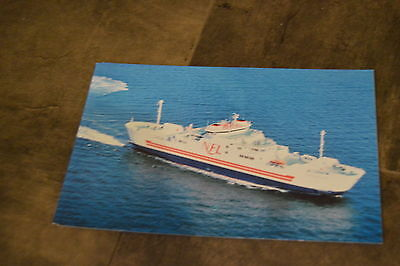 Ship Ferry Postcard Northumberland Ferries ship MV Confederation