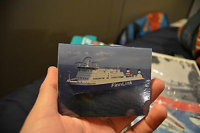 Finnlink ferry company small notepad