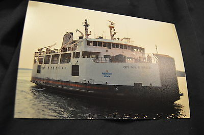 4X6 ferry picture Fogo Island Newfoundland ship Capt Earl W Winsor arriving