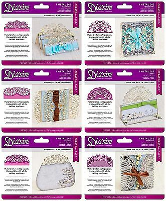 NEW 2017 DIE'SIRE Create A Karte Schablonen by Crafters Companion