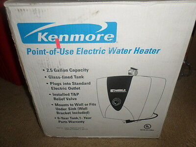 kenmore point-of-use electric water heater 31802