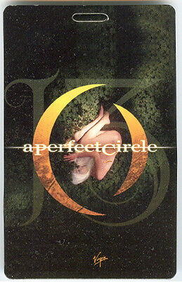 A PERFECT CIRCLE • 2003 13th Step 3D promo card APC -- 2-1/2 x 4 inch