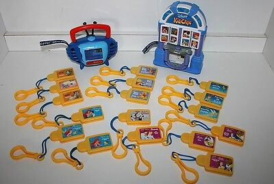 Disney Tunes Kid Clips Lot with 2 Players & 17 clips including Cruella de Vil