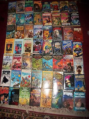 Piers Anthony lot of 60 Xanth Adept Cluster Incarnation 1-3 tarot Xanth cover ar
