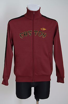 Mens Easton Ice Hockey Tracksuit Jacket Zip Cardigan Sport Red Size S Small Exc