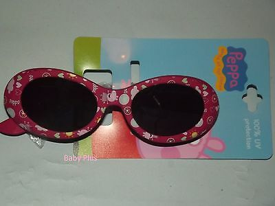 bnwt peppa pig sunglasses 100% uv protection one size