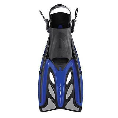 Mirage Crystal Adult Fins / Flippers BLUE Size S/M