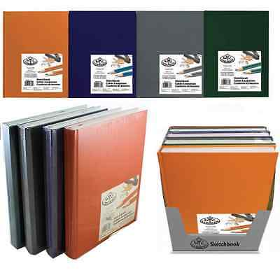PREMIUM A4 A5 HARDBACK ARTIST SKETCHING DRAWING BOOK PADS 220 PAGES 110gsm PAPER