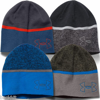 Under Armour 2016 Men's UA Fashion Beanie ColdGear Infrared Thermal Winter Hat