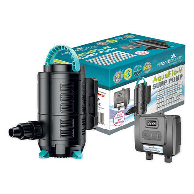 Marine Fish Tank Submersible Sump Return Pump - Remote Adjustable Flow Rate