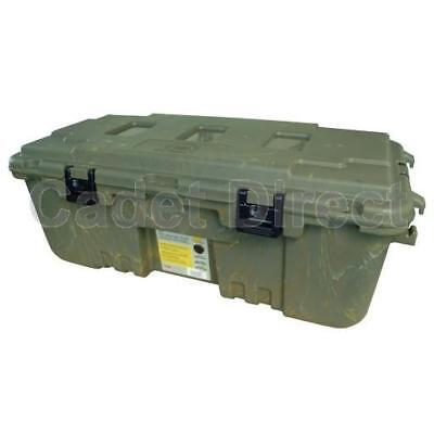 Plano Military Storage Trunk locker box, Camo, Lockable Wheels
