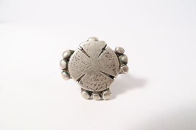 Original alter Fulani Silberring Old Peulh silver ring ancienne bague Afrozip