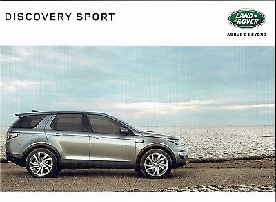 Land Rover Discovery Sport Brochure - 2016 - 102pgs