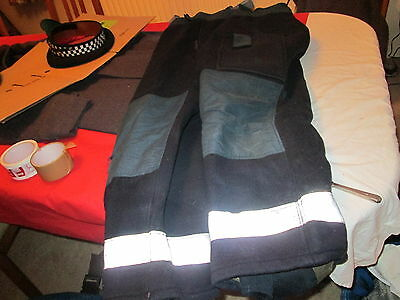 Ballyclaire Fire Fighters Wool Trousers With Braces