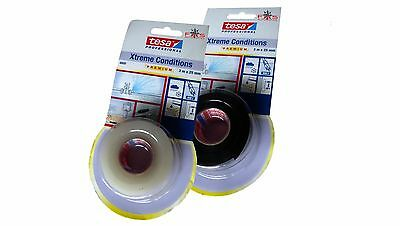 TESA Xtreme Conditions Silikon-Band / Rescue Tape selbstverschweissend Reparatur