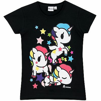 Tokidoki T-Shirt | Girls Tokidoki Tee | Tokidoki Short Sleeve Top | NEW