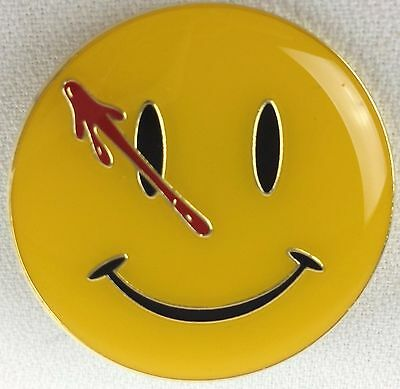 WATCHMEN Movie 2009 Comic Book Series Logo - Enamel Pin