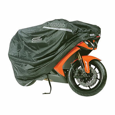 Oxford Motorcycle Stormex Deluxe Waterproof All-Weather Cover Medium - Of140