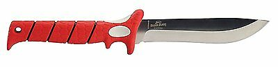 "Bubba Blade 6"" Bayou Straight Stainless Steel Filet Knife w/ Sheath"
