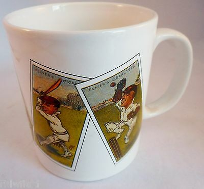 Cricket Mug Featuring Players Cigarette Card Cricketers