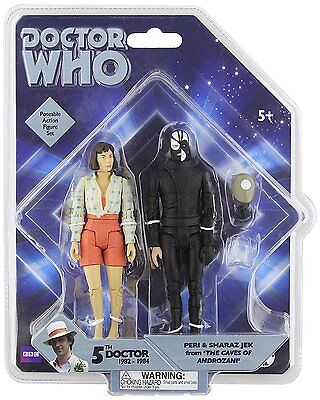 Doctor Who Collectors Figure Set Peri & Sharaz Jez The Caves of Androzani NEW