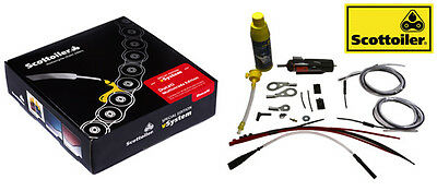 Universal V System Scottoiler Motorcycle Chain Lube System Ducati Multistrada