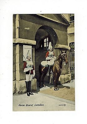 Postcard Gb Valentines 'colourtone' Series Horse Guards Whitehall London