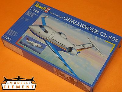 Revell® 04207 Bombardier Challenger CL 604 / Maßstab 1:144 / Länge 14,2 cm