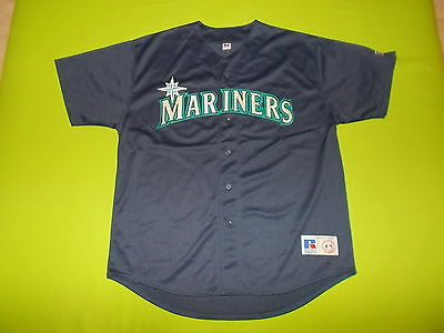 Jersey SEATTLE MARINERS (XL) RUSSELL ATHLETIC PERFECT !!! MLB away