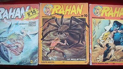 BD RAHAN Collector 10, 14,16 anciennes éditions