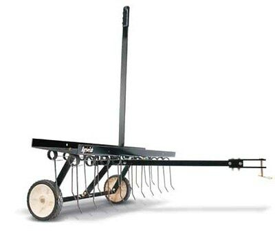 Dethatcher 45-0294 AGRI FAB  tine style 40 INCH ROOT REMOVER TOW BEHIND UNIT