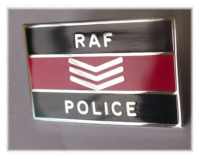RAF Police Sgt pin badge -Royal Air Force Police Sergeant lapel badge