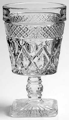Imperial Glass Ohio CAPE COD CLEAR (#1602 & #160) Low Water Goblet 236580