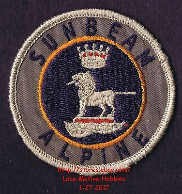 LMH PATCH Badge  SUNBEAM ALPINE Drophead Coupe Sports Car Rootes Group 1953 1975