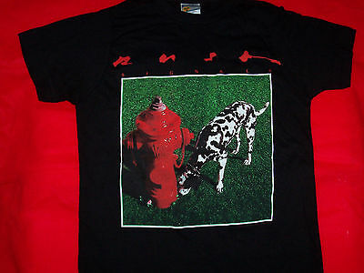 Rush T-Shirt Signals Tour Black Size Youth Medium