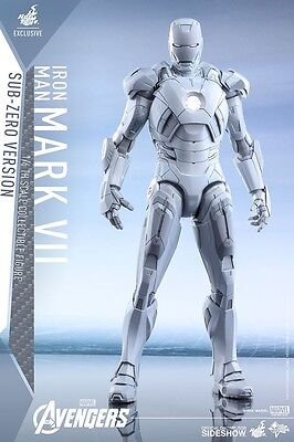 AVENGERS - Iron Man Mark VII Sub-Zero 1/6th Scale Action Figure (Hot Toys) #NEW