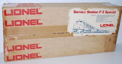 Lionel Trains 6-1350 Canadian Pacific Service Station SET BOX ONLY rough 1973