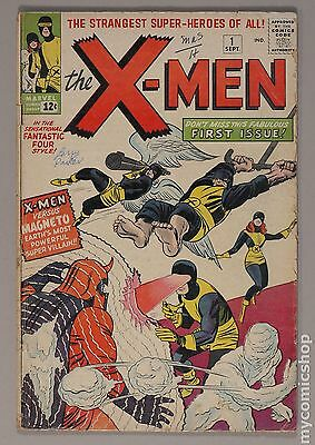Uncanny X-Men (1963) 1st Series #1 GD+ 2.5