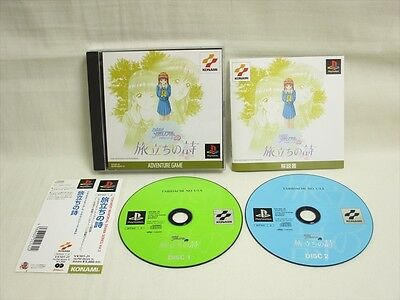 PS1 TOKIMEKI MEMORIAL DRAMA 3 Tabidachi no Uta with SPINE * Playstation Japan p1