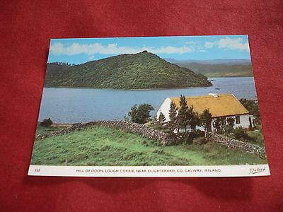 VINTAGE IRELAND: GALWAY Lough Corrib Hill of Doon colour