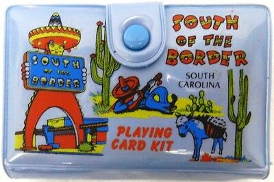 Vintage Playing Card South of the Border Carolina Travel Souvenir Pencil Kit