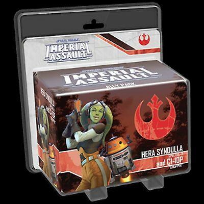 Hera Syndulla and C1-10P Ally Pack: Star Wars Imperial Assault Exp.