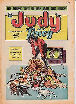 Judy and Tracy Comic - Issue No 1369 - April 5th 1986