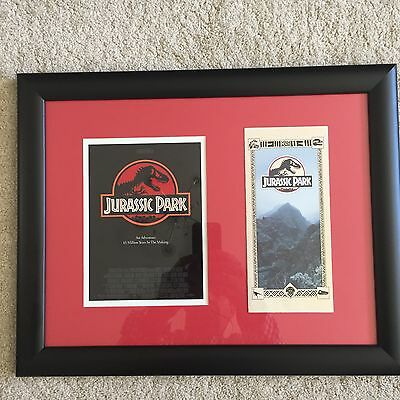 Original Jurassic Park 1993 Screen Used - Brochure Prop