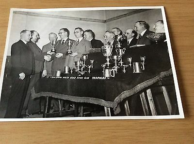 VINTAGE RACING PIGEON PHOTOGRAPHY Trophy Night 1960s