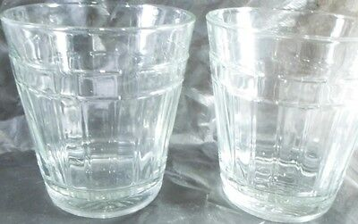 2 Longaberger Woven Traditions 12 ounce Tumblers USA