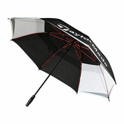"TaylorMade Golf 2017 64"" Tour Double Canopy Umbrella - White/Black"